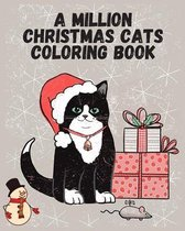 A million christmas cats coloring book