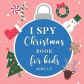 I Spy Christmas Book For Kids Ages 2-5