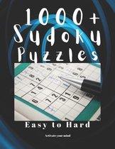 1000+ Sudoku Puzzles Easy to Hard