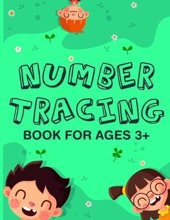 Number Tracing Book For Ages 3+