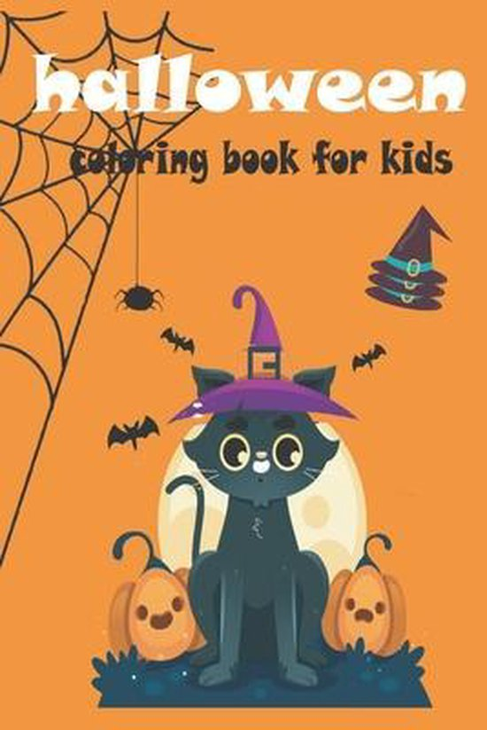 halloween coloring book for kids: Halloween Coloring Book For Toddlers and Kids: Kids Halloween Book: Children Coloring Workbooks for Kids
