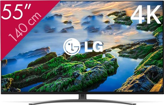 LG 55NANO866NA - 55 inch - 4K NanoCell - 2020