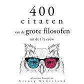 400 citaten van de grote filosofen uit de 17e eeuw