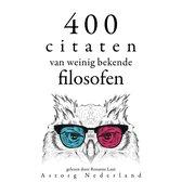 400 citaten van weinig bekende filosofen
