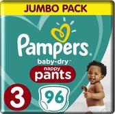 Pampers Baby Dry Pants - Maat 3 - Jumbo Pack - 96 stuks