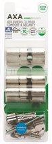 AXA Dubbele veiligheidscilinder (3x) Comfort Security verlengd 30-45 - 3 stuks