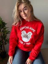 Foute Kersttrui - Home for X-mas  Foute Kersttrui Dames & Heren - Christmas Sweater