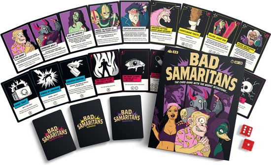 Bad Samaritans: The Comic Book Style card game!
