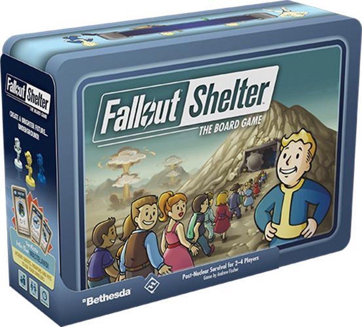 Fallout Shelter The Board Game - Engelstalig Bordspel