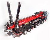 Grove GMK 6400 Telekraan - Hijskraan - Truck - Technisch Bouwpakket van Toy Brick Lighting 4300+ Bouwstenen - Radiografisch - Geen Liebherr LTM