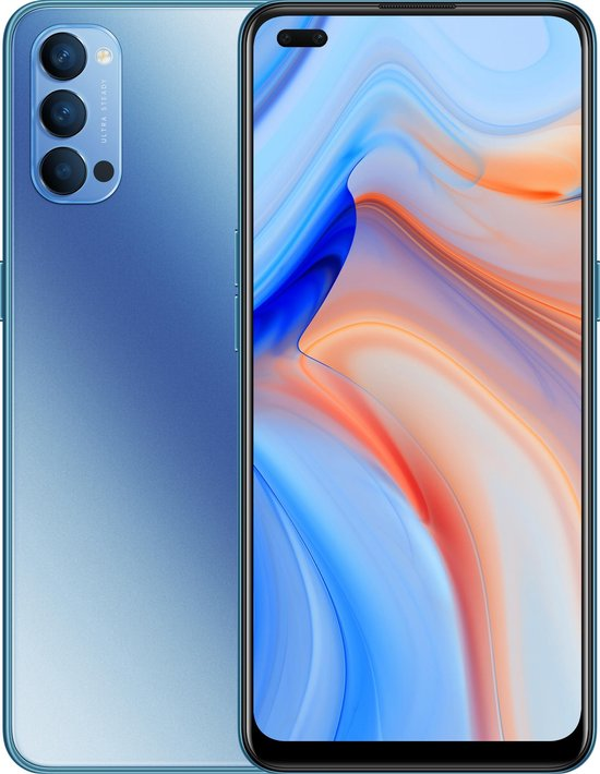 OPPO Reno4 5G - 128GB - Blauw