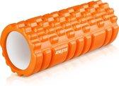 Athletix® - Grid Foam Roller - Trigger point - Yoga - 33cm - Oranje