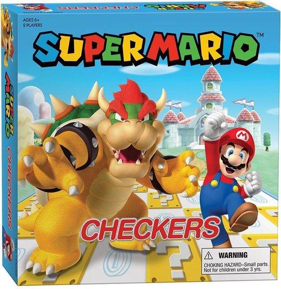 Afbeelding van het spel Super Mario Bros. Checkers / Damspel - Super Mario VS Bowser