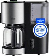 Braun - KF 5120 BK - koffiezetapparaat - glazen kan