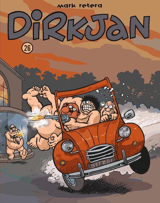 Boek cover Dirkjan 26 van Mark Retera (Paperback)
