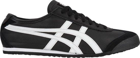 Onitsuka Tiger Mexico 66 Unisex Sneakers - Black/White - Maat 47