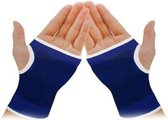 Polsbrace Polsbandage Dunlop - Compressie - Lichte tot middelzware klachten - blauw - 2 stuks