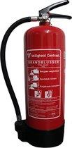Schuimblusser 6 liter, A-kwaliteit incl. Wandbeugel en keuring