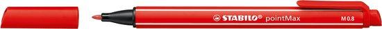 STABILO pointMax Fineliner - Etui 12 Kleuren - STABILO