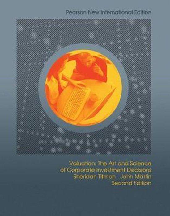 Valuation: Pearson  International Edition