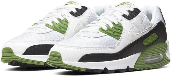 Nike Sneakers - Maat 45 - Mannen - wit/groen/zwart