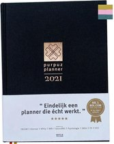 Purpuz Planner 2021 - Agenda 2021 & Lifecoach in één
