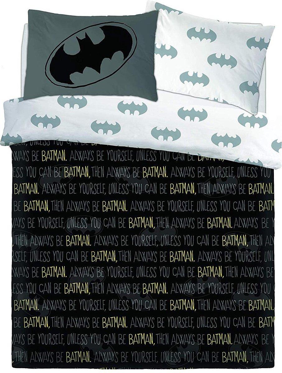 Batman tweepersoons dekbedovertrek - 200 x 200 cm. - Bat-Man dekbed kopen