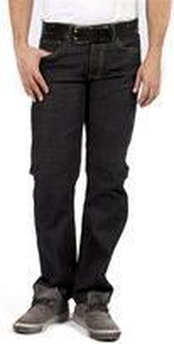DJX Heren Jeans 121 stretch Regular -  Blackstone - W38 X L34