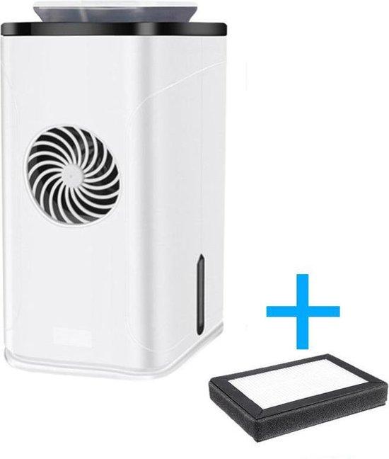 Dexters® 4-in-1 UV luchtreiniger met ionisator neutraliseert virussen en bacteriën - Verbeter luchtkwaliteit