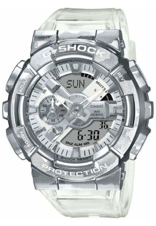 Casio G-Shock GM-110SCM-1AER Horloge – Kunststof – Transparant – Ø 45 mm