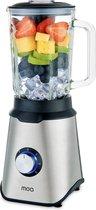 MOA Blender met glazen kan - 1,5 liter - 1000 Watt - TB61
