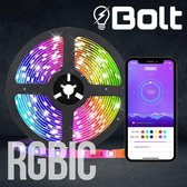 Bolt™ RGBIC LED strip 2.0 Individueel Control Per Led 120 Nieuwe Led Effecten - 60 LEDs per Meter met Bluetooth - SMD 5050 - 5 Meter