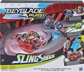 Beyblade Burst Turbo Slingshock Rail Rush Battle Set - complete set hasbro