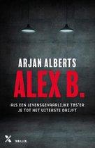 Boek cover Alex B. van Arjan Alberts