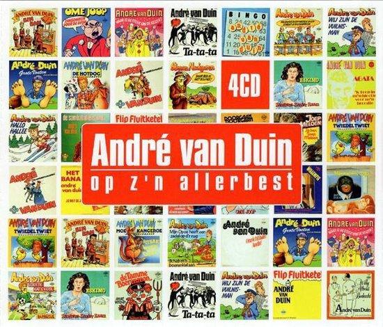CD cover van Andre Van Duin - Op Z N Allerbest van Andre Van Duin