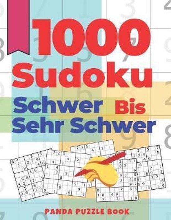 1000 Sudoku Schwer Bis Sehr Schwer