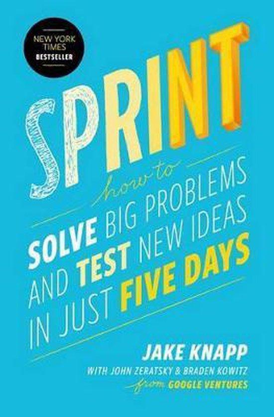 Boek cover Sprint van Jake Knapp (Hardcover)
