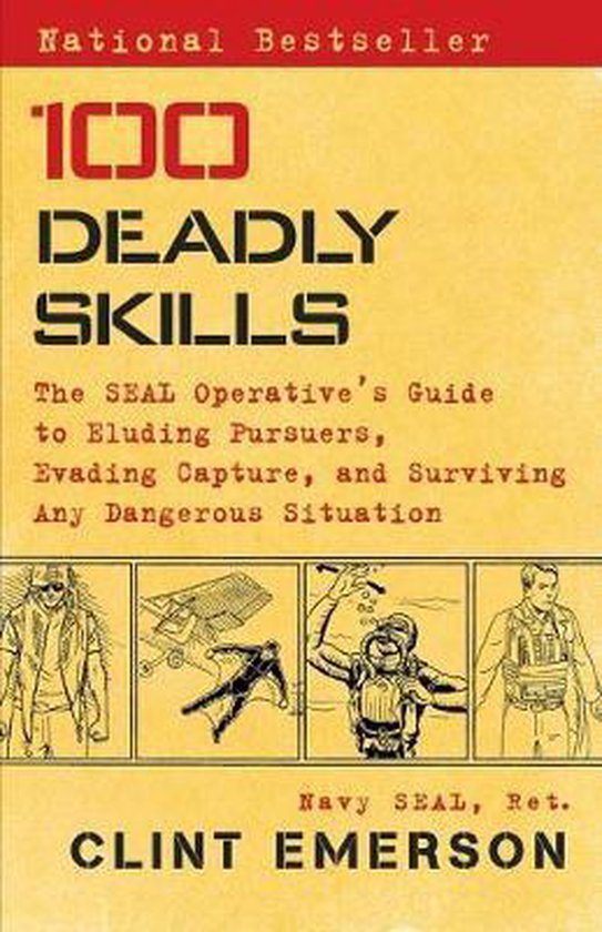Boek cover 100 Deadly Skills van Clint Emerson (Paperback)