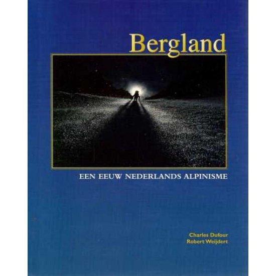Cover van het boek 'Bergland'
