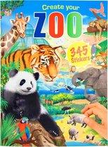 Create your dierentuin ZOO stickerboek dieren