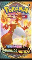 Afbeelding van Pokemon Sword & Shield Darkness Ablaze Booster - Pokémon Kaarten