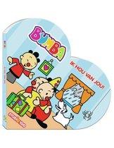 Boek cover Bumba : kartonboek in hartvorm - ik hou van je ! van Gert Verhulst (Onbekend)