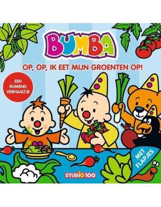 Boek cover Bumba  -   op, op, ik eet mijn groenten op! van Gert Verhulst (Onbekend)