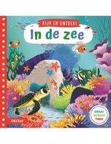 Boek cover Kijk en ontdek, In de zee van