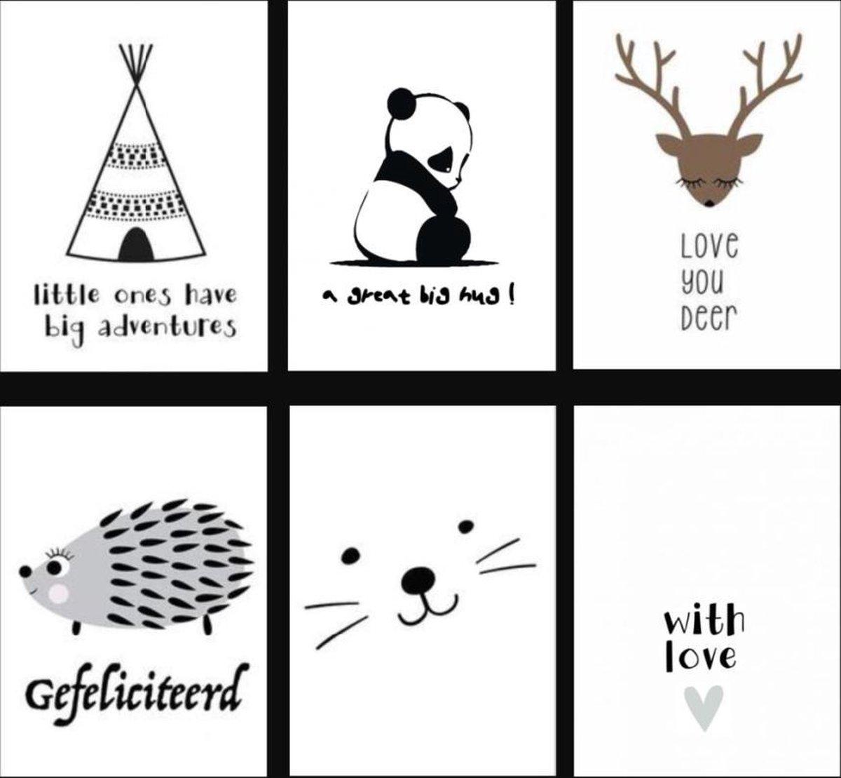 Fabs World ansichtkaarten set Every Moment - Fabs World