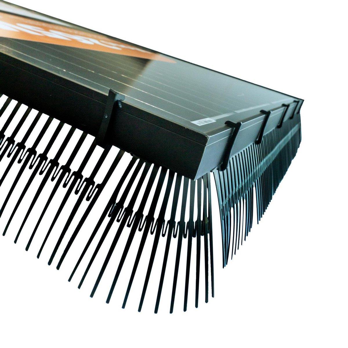 Solarguard Pro  vogelwering opdaksysteem 20 meter universele klemmen Zonnepanelen