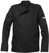 Chefs Fashion - Koksbuis Basic Black maat XS