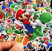 Super mario stickers – 50 stuks - Mario lego – Mario stickers – Super mario - Super mario lego - Super mario all stars