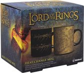 Paladone Lord Of The Rings Heat Change Mug (PP6546LR)