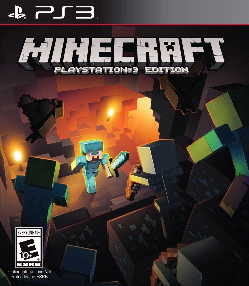 Minecraft - PlayStation 3 Edition - PS3 - Mojang